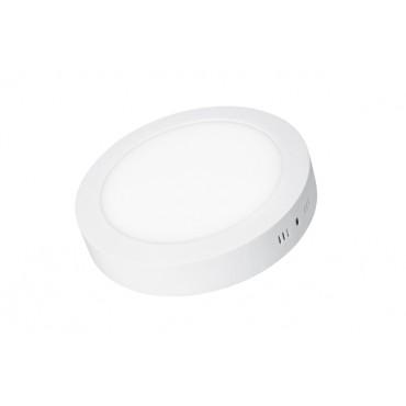 Светильник EUROLAMP LED круглый накладной матовый Downlight New 12W 4000K (LED-NLR-12/4(F))