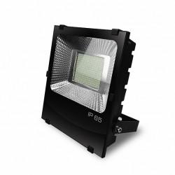 Прожектор EUROELECTRIC LED SMD черный с радиатором 200W 6500K (LED-FLR-SMD-200)