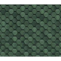 Битумная черепица SHINGLAS Финская, зеленый, 3 кв.м./упаковка