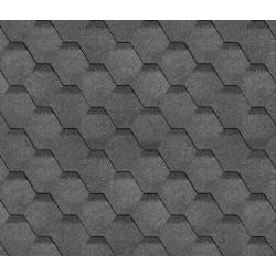 Битумная черепица SHINGLAS Финская, серый, 3 кв.м./упаковка