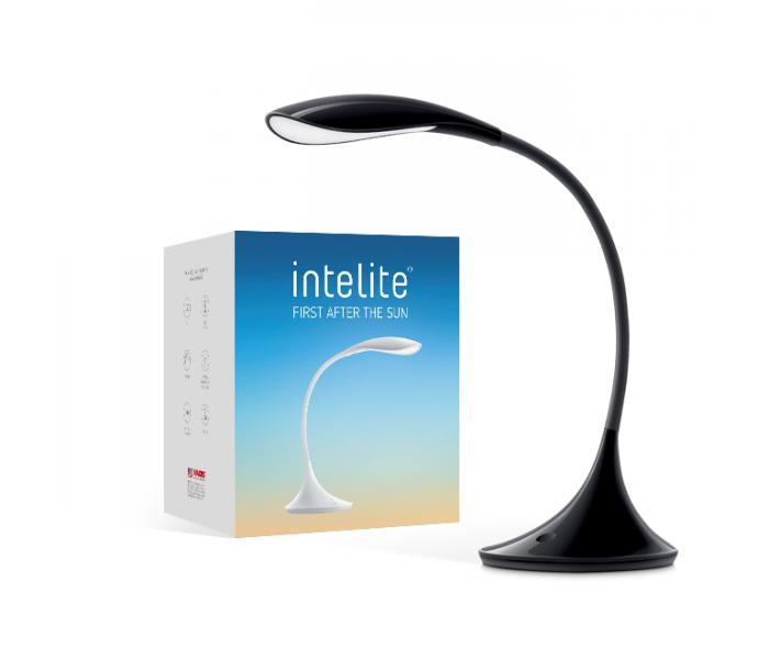 Настольный LED светильник Intelite Desklamp  6W black (DL3-6W-BL)