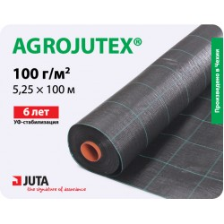 Агроткань Agrojutex 100 мульчирующая, 5,25×100