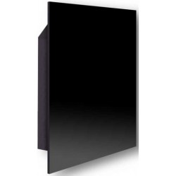 Керамический обогреватель EWO Slim С350 Black, 603х603х11