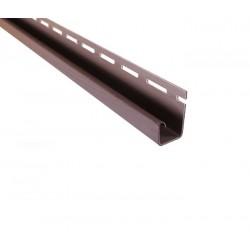 J-профиль ASKO 3,8 м. коричневый