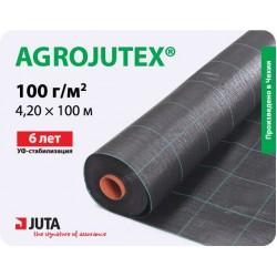 Агроткань Agrojutex 100 мульчирующая, 4,2×100