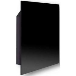 Керамический обогреватель EWO Slim С380 Black, 600х600х11