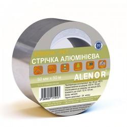 Лента самоклеящаяся алюминиевая Аленор AL+PET 75мм*50м
