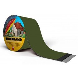 Лента самоклеющаяся Nicoband зеленая 7,5см.*10м.
