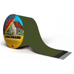 Лента самоклеющаяся Nicoband зеленая  10см.*10м.
