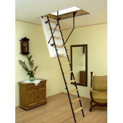 Комбинированная четырехсекционная чердачная лестница Oman Mini (80x70)