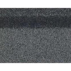 Коньково-карнизная черепица SHINGLAS, серый, 5 кв.м./упаковка