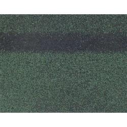 Коньково-карнизная черепица SHINGLAS, зеленый, 5 кв.м./упаковка