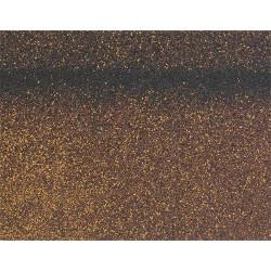 Коньково-карнизная черепица SHINGLAS, коричневый, 5 кв.м./упаковка