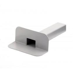 Воронка переливная квадратная ПВХ Flagon, размер квадратного выхода 100*65 мм. В упаковке 10 шт./уп.