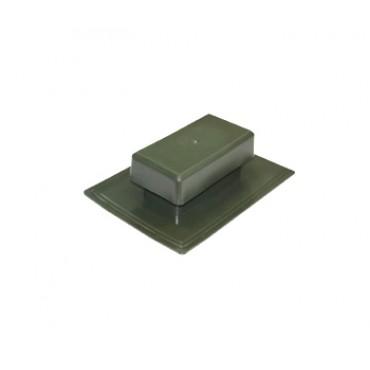 Аэратор скатный плоский Специальный ТехноНИКОЛЬ, зеленый
