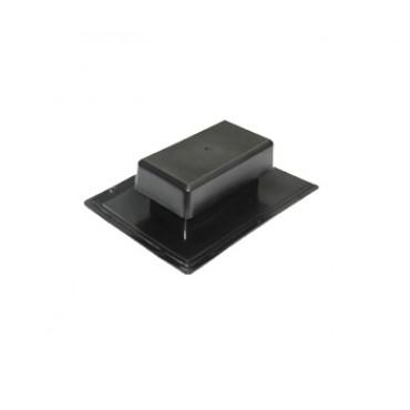 Аэратор скатный плоский Специальный ТехноНИКОЛЬ, черный