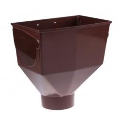 Горло желоба Profil 130, коричневый