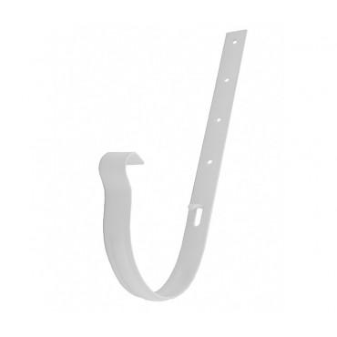Держатель желоба Profil метал. 130, белый