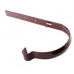 Держатель желоба Profil метал. 90, коричневый