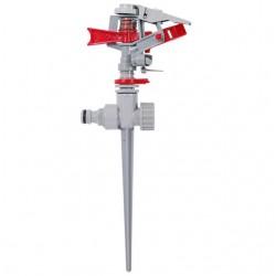 Дождеватель пульсирующий с полной или частичной зоной полива на костыле, круг/сектор полива до 12м B
