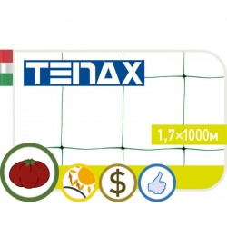 Сетка TENAX 'Ортинет' для горизонтальной поддержки растений 1,7х1000 белая