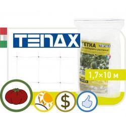 Сетка TENAX 'Ортинет' для горизонтальной поддержки растений (фасованная) 1,7х10 белая