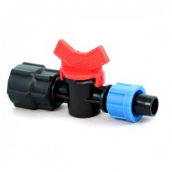 Кран для капельной ленты с 3/4' внутренней резьбой (FL-011734)