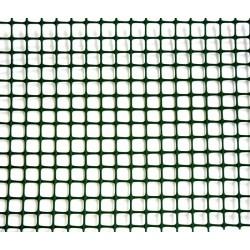 Сетка TENAX 'Квадра 10' для ограждения клумб, балконов и защиты от кротов 1х50 зеленая