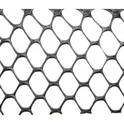 Сетка TENAX 'Эксагон' для ограждения клумб, балконов и защиты от кротов (фасованная) 1х5 серебро