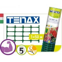 Сетка TENAX 'Хобби 30' для ограждения клумб, балконов и защиты от кротов 1х50 зеленая