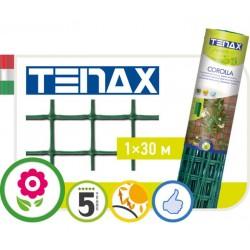 Сетка TENAX 'Королла' для ограждения клумб, балконов и защиты от кротов 1х30 зеленая