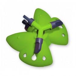 Вращающийся тройной дождеватель 'Бабочка' green (PS-8107G)