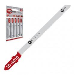 Полотно пильное для лобзика, рабочая длина 75 мм, шаг зуба 1,2 мм для листового металла