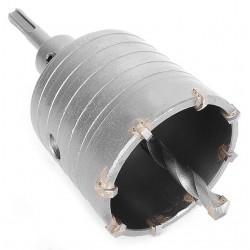 Комплект: сверло корончатое по бетону 65 мм и Переходник SDS Plus 100мм INTERTOOL SD-7065