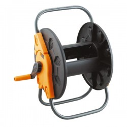 Катушка для шланга без колёс чёрная 1/2'60м. (PS-3601)