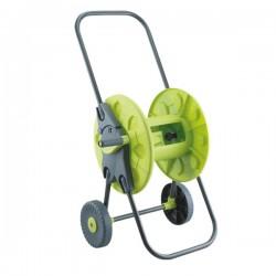 Тележка для шланга с колёсами зелёная 1/2'60м. (PS-3101G)
