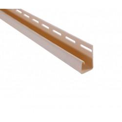 планка J-trim Грецкий орех 3,66 м.