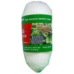 Сетка для защиты плодов от птиц Agreen повышенной плотности (фасованная) 4х10 белая