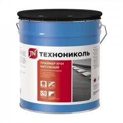 Праймер битумный ТехноНИКОЛЬ №01 готовый 10 л.