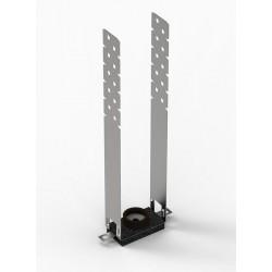 Виброизоляционное крепление ВибрОК Плюс 30х60х250 мм