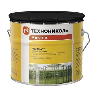 Мастика битумная антикоррозионная AquaMast готовая  2,4 кг.