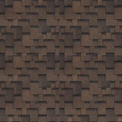 Битумная черепица SHINGLAS Финская Аккорд, коричневый, 3 кв.м./упаковка
