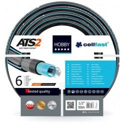 Садовый  шланг для полива Hobby ATS 1/2'50м. (16-201)