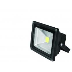 Прожектор EUROELECTRIC LED COB черный 10W 6500K classic (LED-FL-10(black))