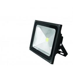 Прожектор EUROELECTRIC LED COB черный 50W 6500K classic (LED-FL-50(black))