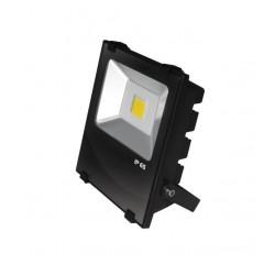 Прожектор EUROELECTRIC LED COB черный с радиатором 30W 6500K modern (LED-FLR-COB-30)