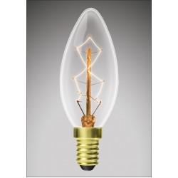 Лампа EUROLAMP ЛОН Свеча ArtDeco 40W E14 2700K dimmable (CL-40142(deco))