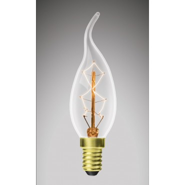 Лампа EUROLAMP ЛОН Свеча на ветру ArtDeco 40W E14 2700K dimmable (CW-40142(deco))